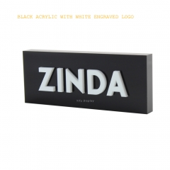 Acylirc Engraved 3D Logo Sign