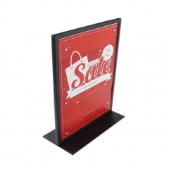 Wholesale A4 A5 Table Poster Display Rack