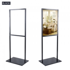 Wholesale Black Floor Poster Display Frame