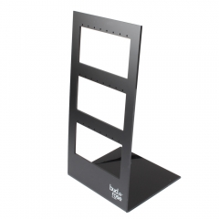 Matt Black Acrylic Earring Holder