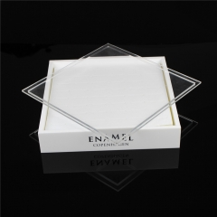 Acrylic Jewelry Display Box with Lid