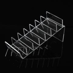 7 Stairs Acrylic Wallet Display Stand