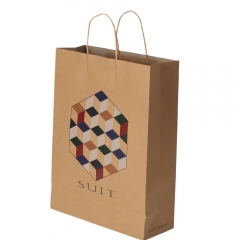 Custom Clothing Kraft Paper Bag