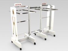 Retail Metal Store Clothing Display Rack