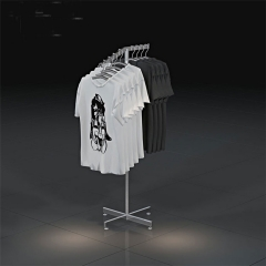 2 Rack Clothing Display Rack