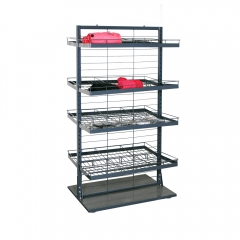 Metal Store Clothing Display Rack