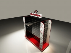 Custom Metal MDF Slatwall Store Display
