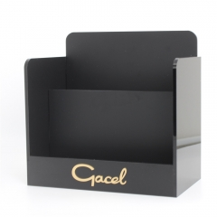 Frosted Black Acrylic Display Box for Gel Cushion