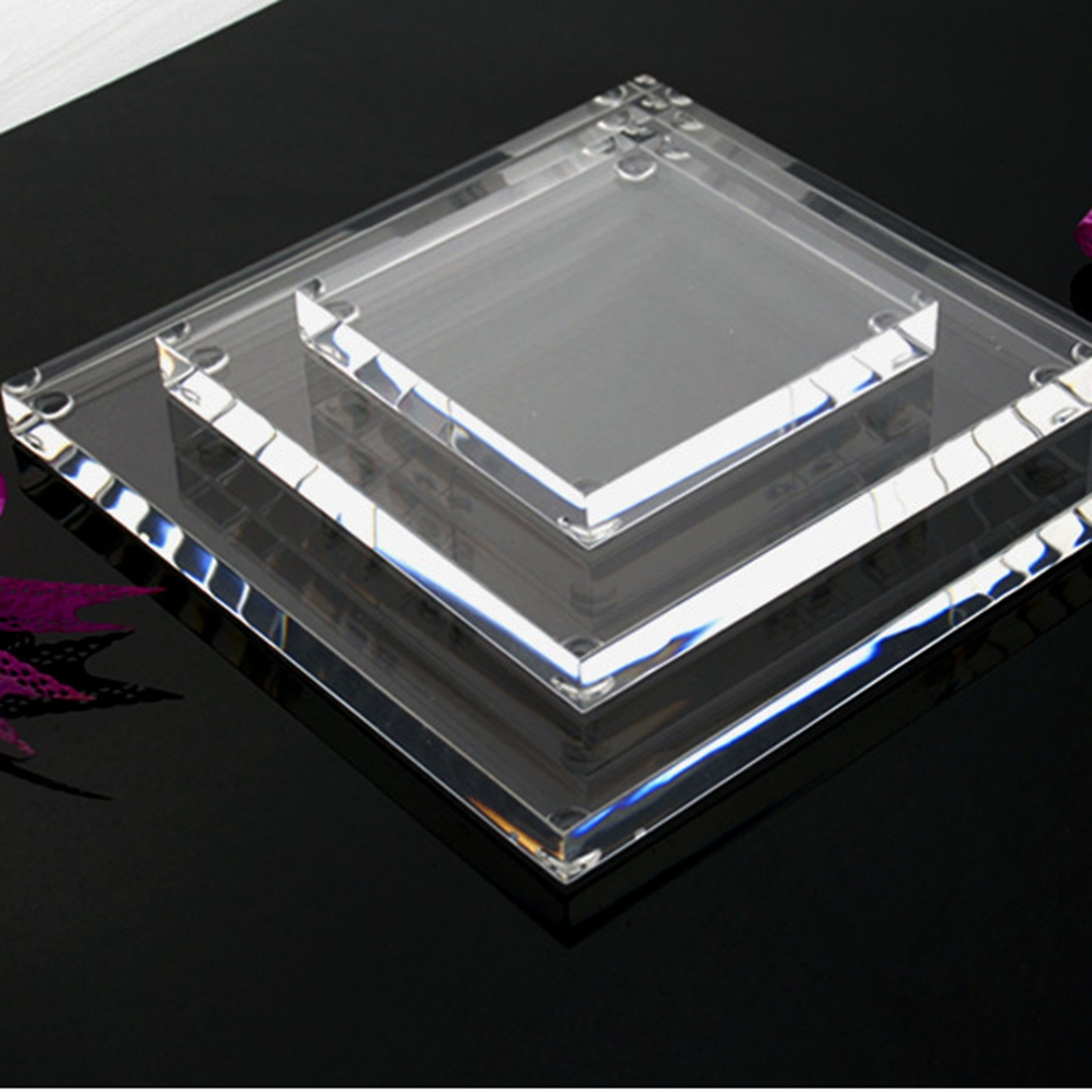 Clear Acrylic Block Acrylic Jewelry Display Block Clear