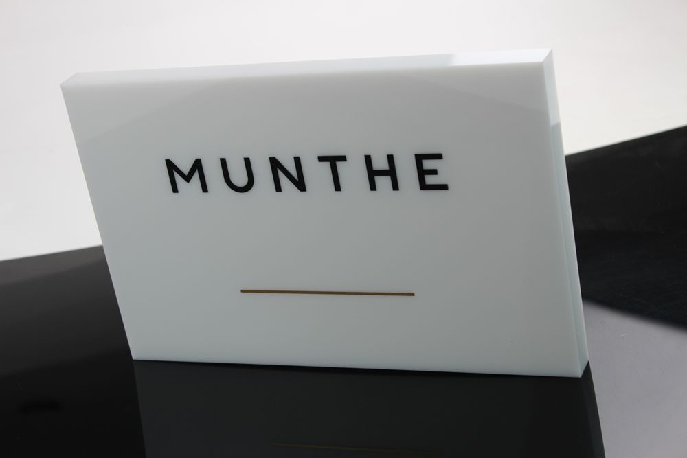 Acrylic Block with Logo