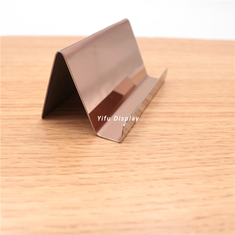 metal card holder