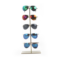 Wholesale Gold Eyewear Display Rack