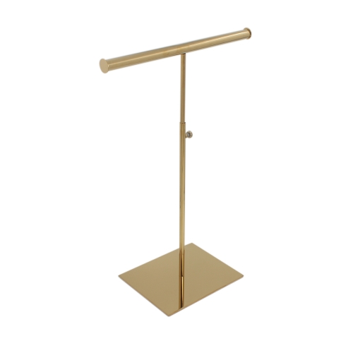 Gold T Bar Necklace Display Stand