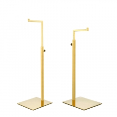 Polished Gold Handbag Purse Display Stand